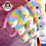 Amuse Alpacasso Rainbow Backpack Rucksack Bag Multicoloured 38cm