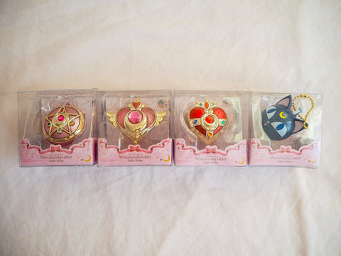 Sailor Moon Miniaturely Tablet Mini Compact Collectable Keyrings