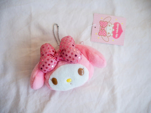 Sanrio My Melody Pink Sequin Coin Purse