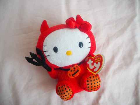 Hello Kitty Sanrio Devil Halloween Plush