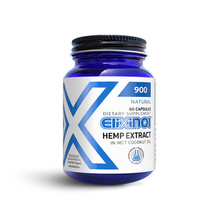 Elixinol Hemp Oil Capsules 900 MG