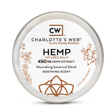 Image of Charlotte's Web Hemp Infused Balm - 450 mg