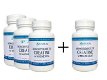 Image of Creatine with Magnesium Capsules Bottles