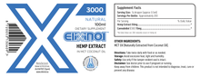 Elixinol Hemp Extract Tincture – Hemp Oil Drops 3000mg – Natural Flavor Description