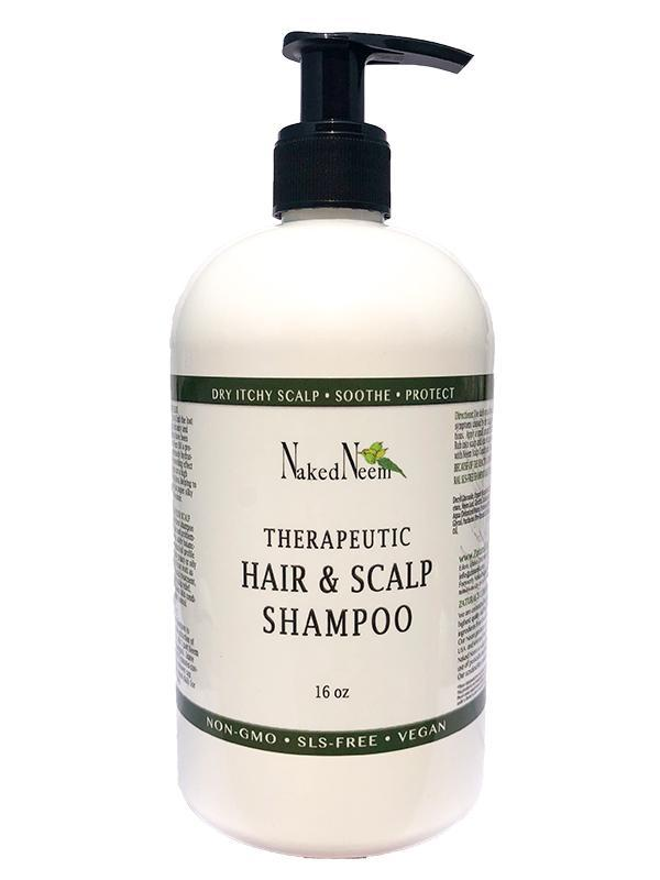 Neem Shampoo For The Hair & Scalp in Bottle