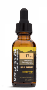 Charlotte's Web Extra Strength Oil 17 MG/ML  - 30 ml - Lemon Twist