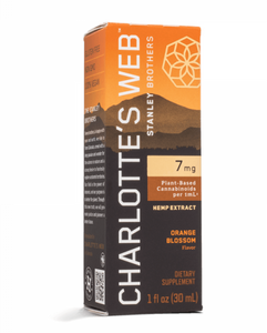 Charlotte's Web 7 MG/ML Oil- 30ml - Orange Blossom