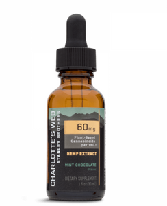 Charlotte's Web 60 MG/ML - 30 ML (Maximum Strength)- Mint Chocolate
