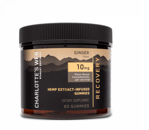 CHARLOTTE'S WEB GUMMIES : RECOVERY : GINGER FLAVOUR