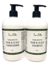Neem Shampoo For The Hair & Scalp Bottles