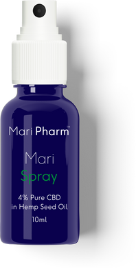 MariSpray - 4% (400mg) CBD in Hemp Seed Oil