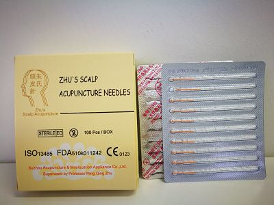 Specialized Scalp Needles - Gauge 36 Length 0.20 X 20 mm