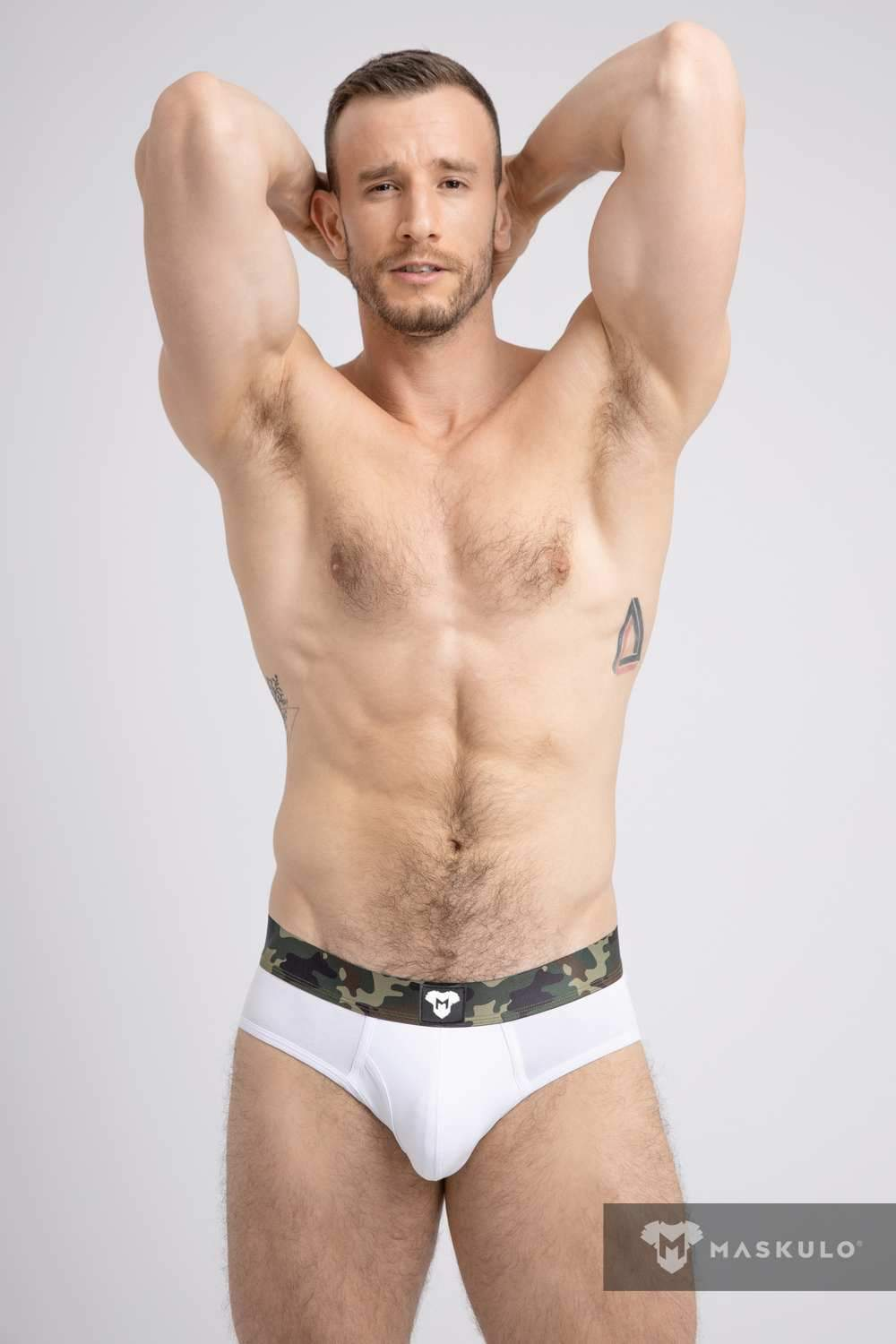 Military Cotton Briefs