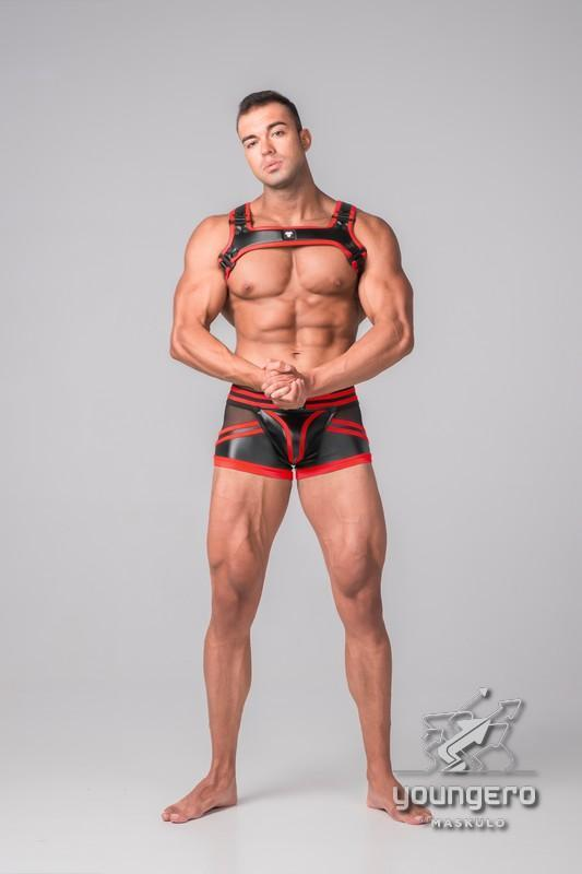 Youngero Generation Y. Men's Fetish Bulldog Harness