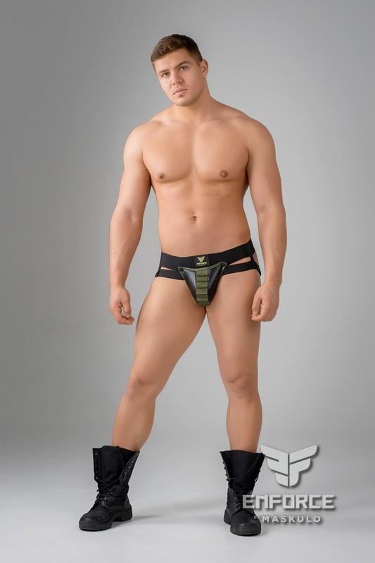 EnForce. Patronengurt-Codpiece Jockstraps