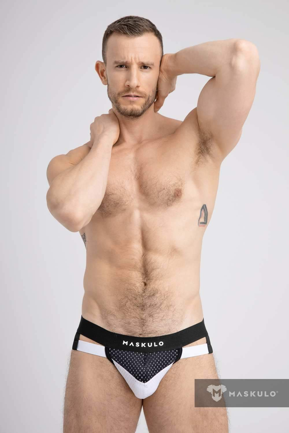 Jockstraps with 2-layer Pouch