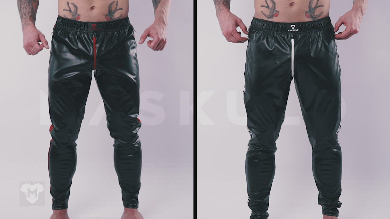 Skulla. Leatherette Pants