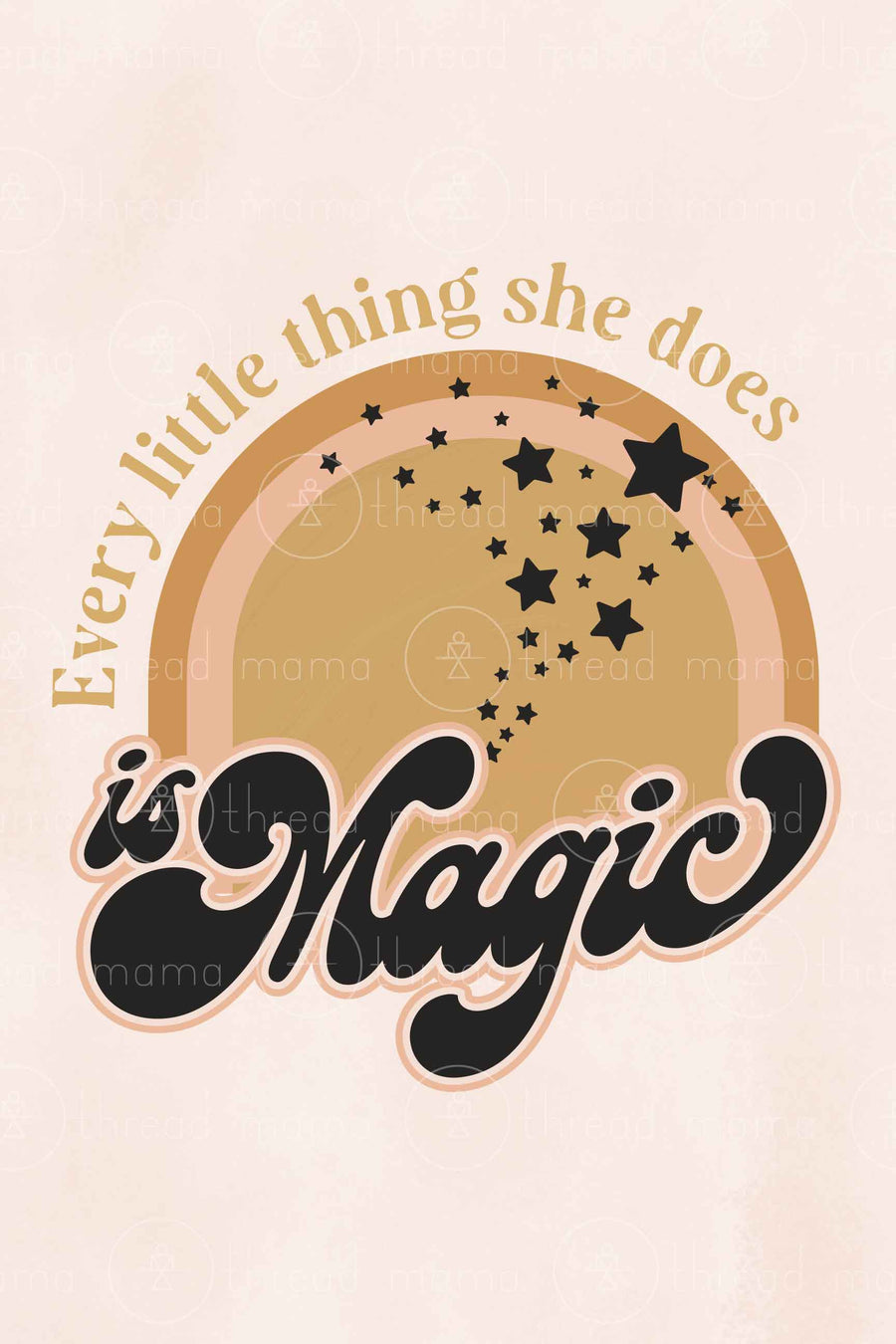 Every Little Thing She Does is Magic (Printable Poster)