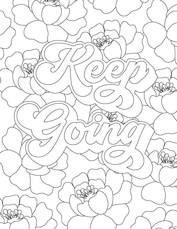 Thread Mama Coloring Book (21 Printable Pages)