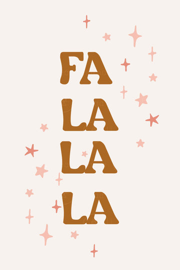 Fala Lala - 7 Versions ( Printable Poster )