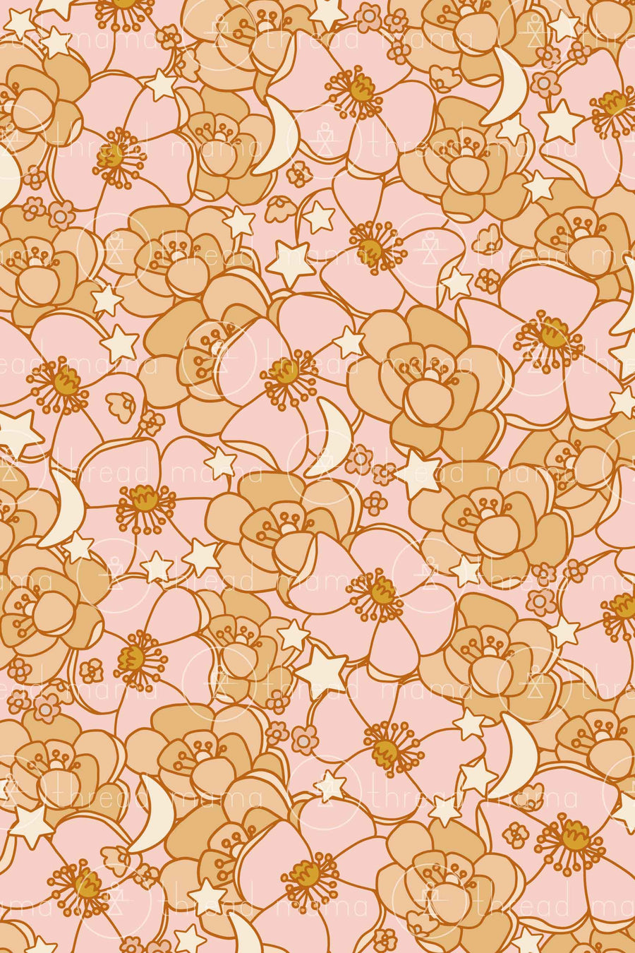 Fall Floral Background 3 (Printable Poster)