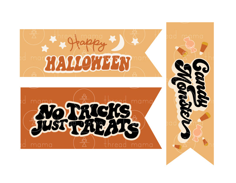 Halloween Printables 2020 - Orange