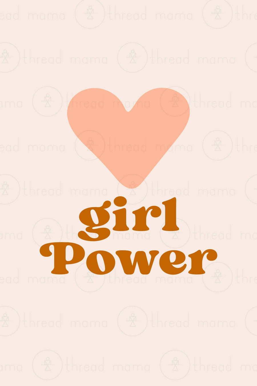 Girl Power (Printable Poster Collection)