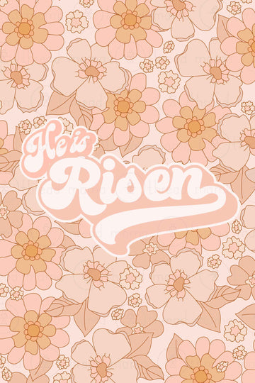 He is Risen (Printable Poster)