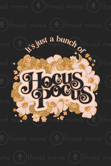 Floral Hocus Pocus (Printable Poster)