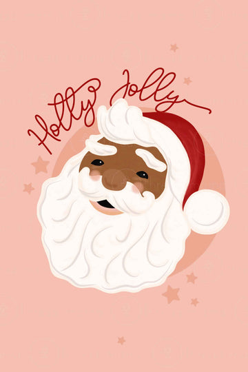 Holly Jolly St Nick (Dark Skin)
