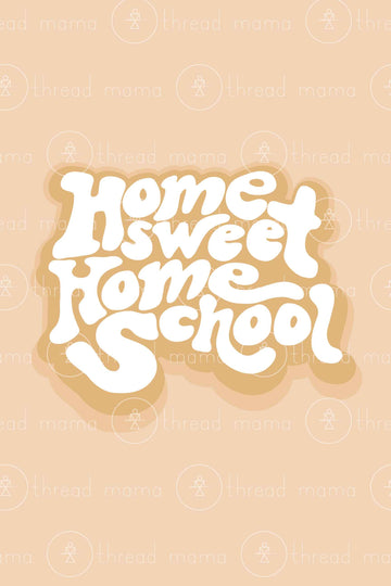Home Sweet Homeschool (Printable Poster)