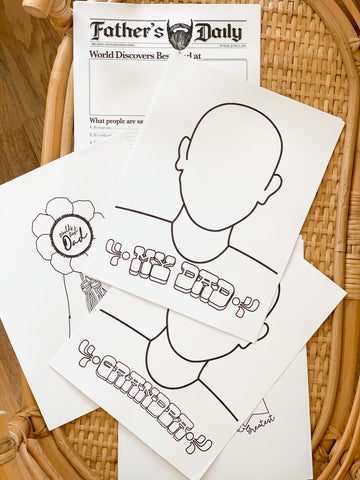 Father's Day Activities (Interactive Printables)