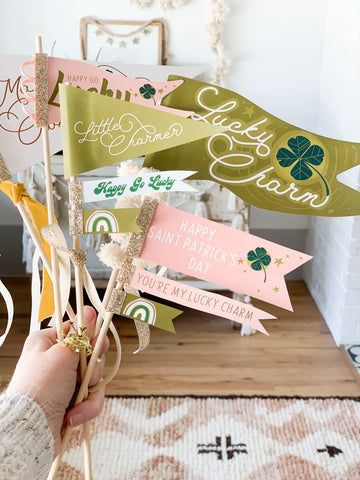 Saint Patrick's Pennants & Tags