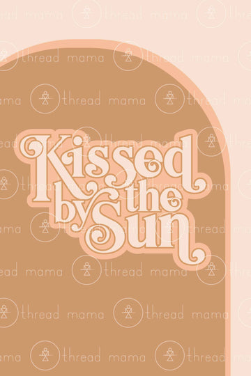 Kissed By The Sun (Printable Poster)