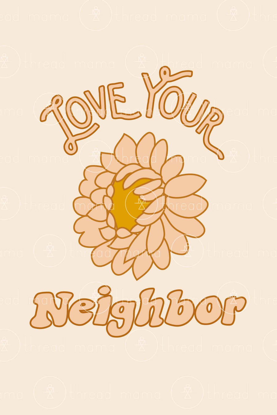 Love Your Neighbor (Printable Poster)