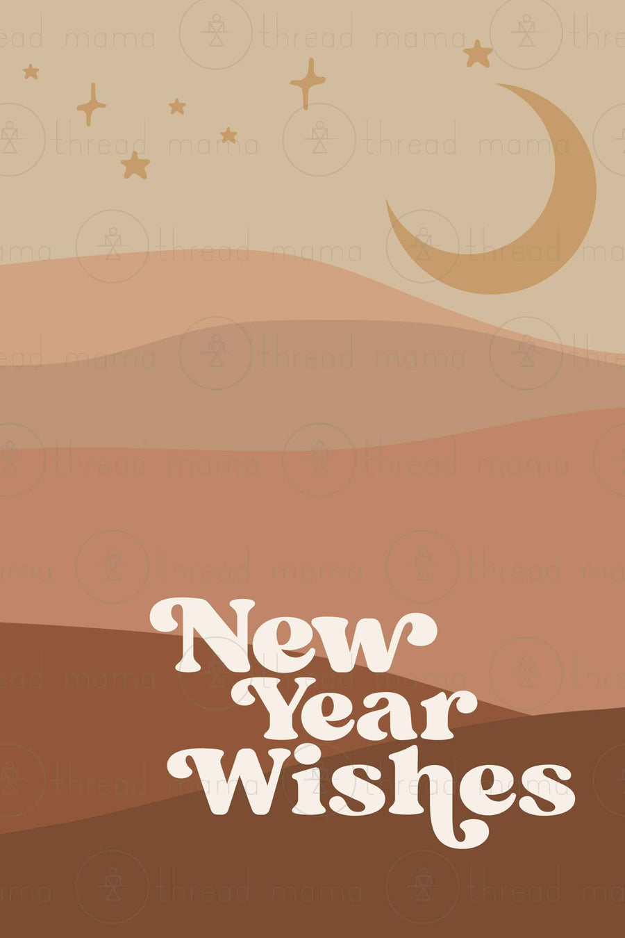 New Year Wishes! (Printable Poster Collection)