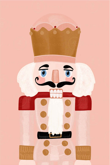 Nutcracker Closeup Version 3 (Printable Poster)