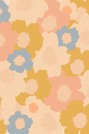 Background Pattern #53 (Printable Poster)