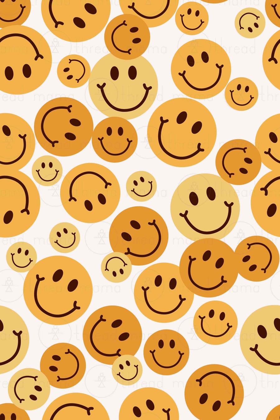 Smiley Face Collection (Background Patterns)