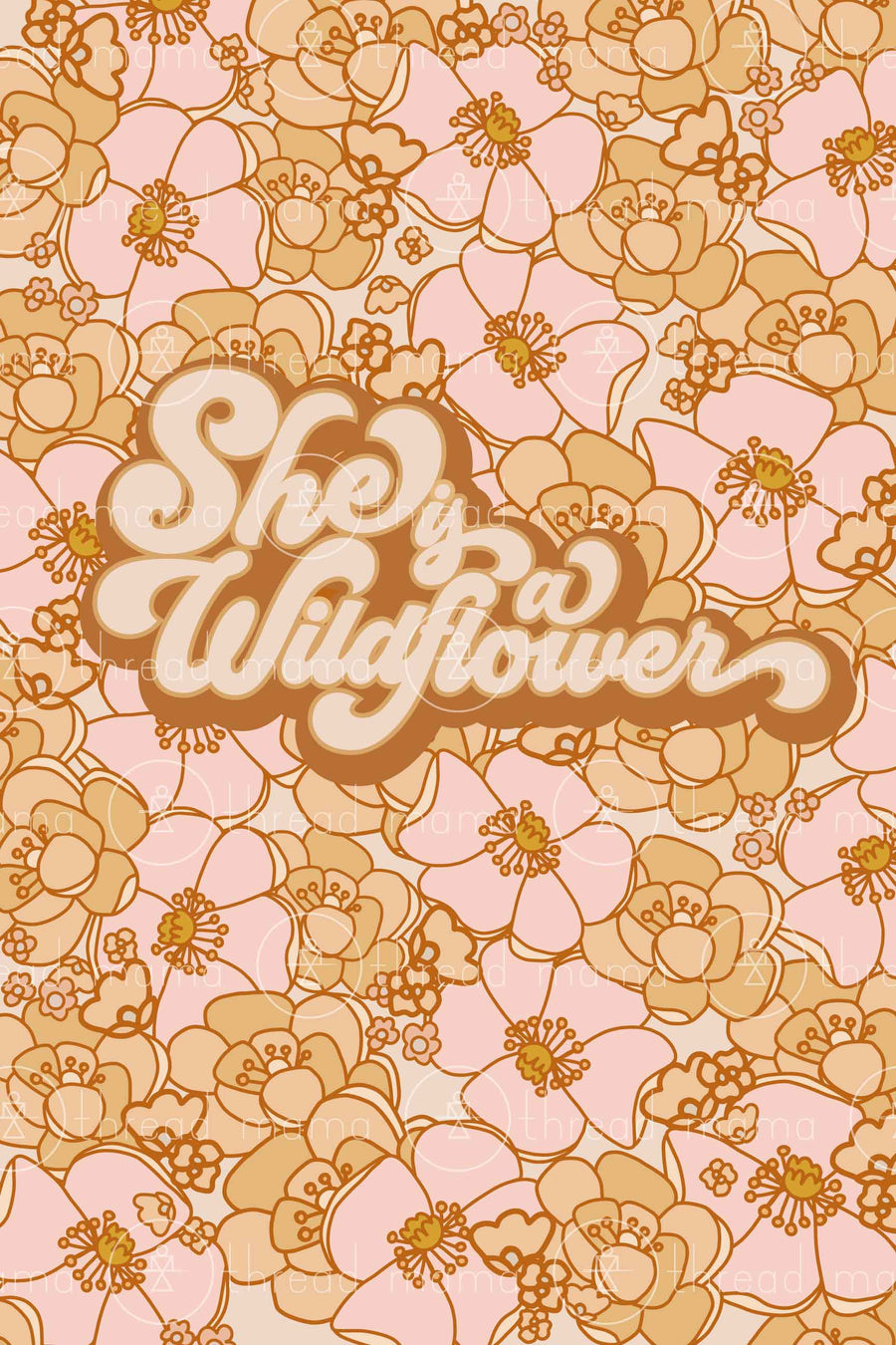 She is a Wildflower (Printable Poster)