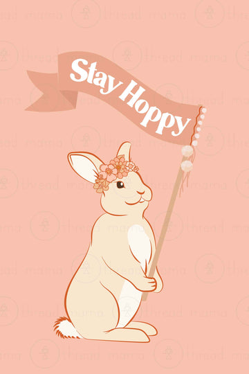 Stay Hoppy (Printable Poster)