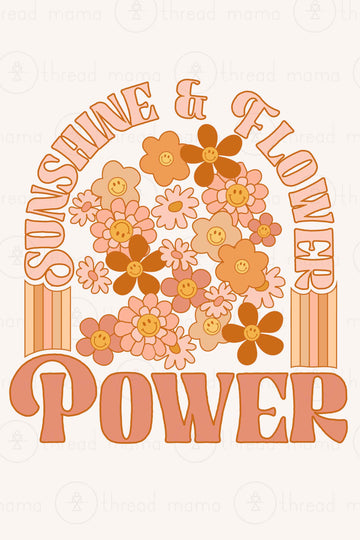 Sunshine Flower Power Collection (Printable Poster)