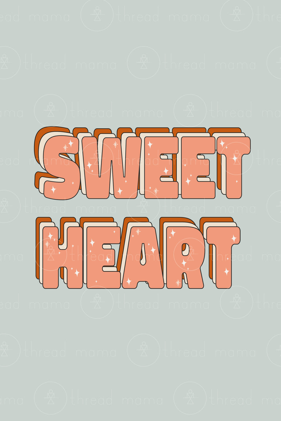 Sweet Heart (Printable Poster)