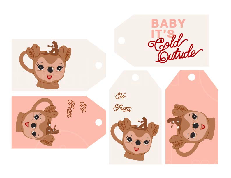 Hot Chocolate Bar Tags