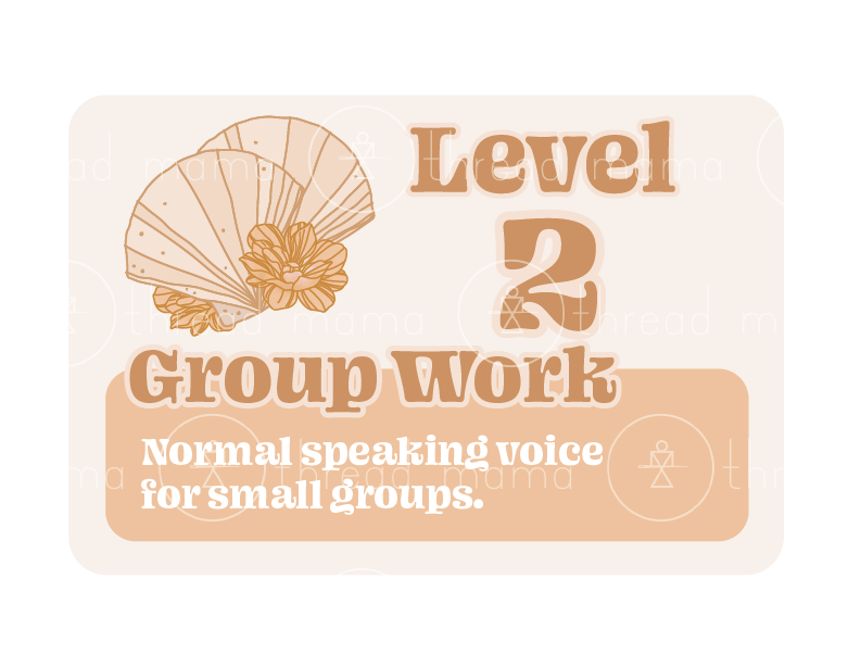 Voice Levels (Printables)