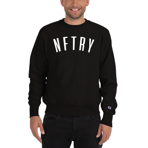 NFTRY Champion Sweatshirt