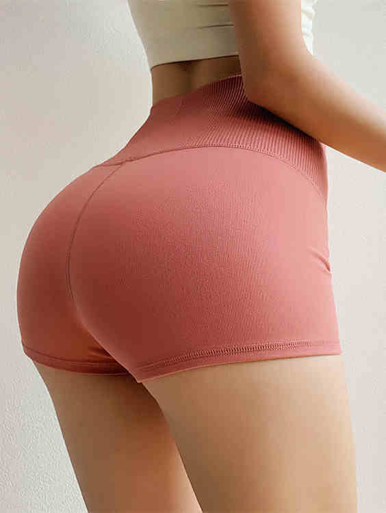 Stretch Hip-up Sports Short Leggings