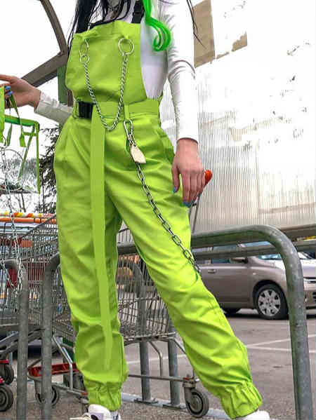 Lilacoco Green Jumpsuit