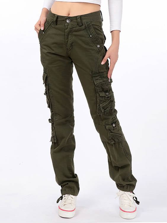 Straight Leg with Pocket Overalls Outdoor Pants