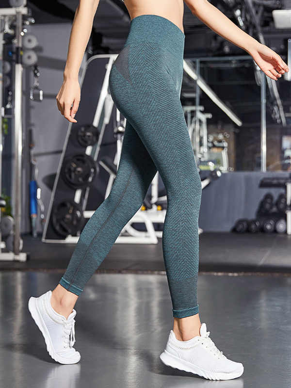 High waist stretch slim leggings